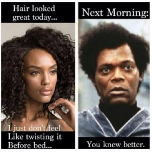 hair beauty meme