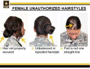 female unauthorized hairstyles 3